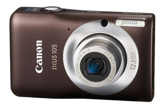 Câmera Digital Canon Ixus 105 C/ 12,1 Megapixels E Zoom 4x