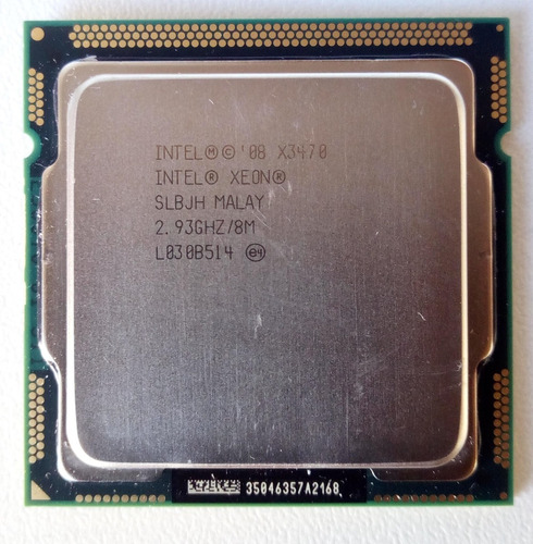 Xeon X3470 - 2.93 Ghz - Slbjh - Lga1156 - Usado
