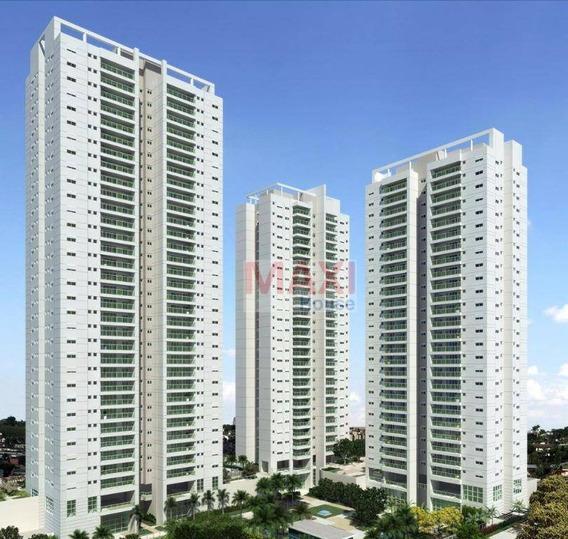 Apartamento 170 M², Jardins Do Brasil Amazônia, Torre Buriti, 3 Suítes, 3 Vagas, Centro, Osasco. - Ap0149