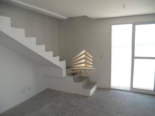Cobertura Duplex Na Vila Augusta, Condomínio Supera 136m², 3 Dormitórios, 1 Suíte, 4 Vagas. - Co0014
