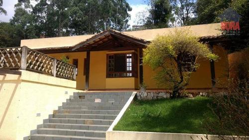 Chácara Com 3 Dormitórios À Venda, 1000 M² Por R$ 490.000 - Pirucaia - Mairiporã/sp - Ch0240