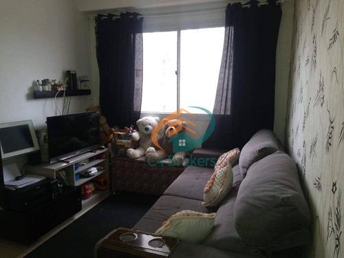 Apartamento Com 2 Dormitórios À Venda, 43 M² Por R$ 225.000,00 - Jardim Cocaia - Guarulhos/sp - Ap2026
