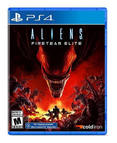Imagen 1 de 2 de Aliens Fireteam Elite Nuevo Físico Sellado Original Ps4 Ade