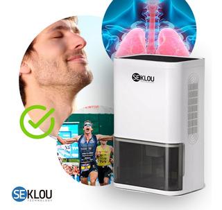 Deshumidificador Ionizador Seklou® Saca Humedad Aire Puro