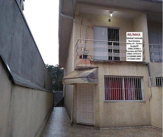 Sobrado 3 Dorms (1 Suíte) 150m²at 140m²ac Jordanópolis Arujá/sp - So0105