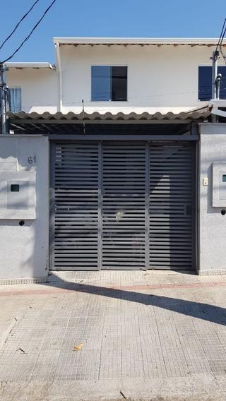 Casa Geminada Com 2 Quartos Para Comprar No Planalto Em Belo Horizonte/mg - 2045