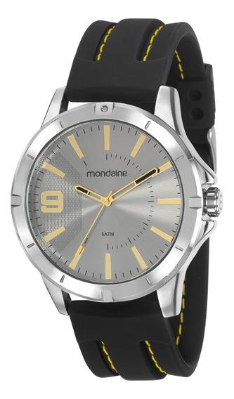Relógio Mondaine 99376g0mvni1 - Pulseira Em Silicone