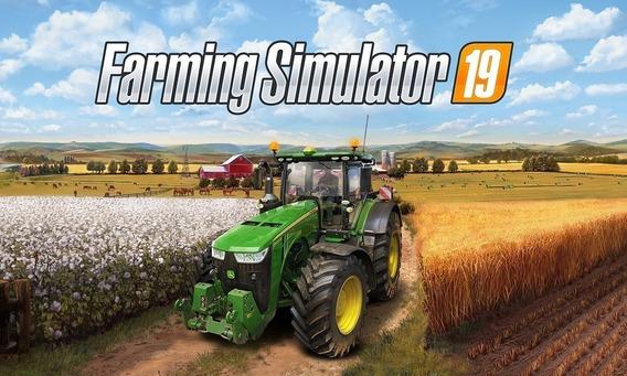 Farming Simulator 2019 Pc + Qualquer Jogo A Sua Escolha
