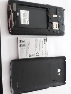 Celular L80 D365, Carcaça Preta Leia Descrição.