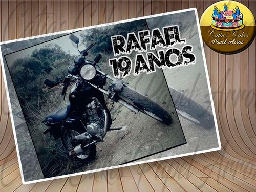 Imagem 1 de 9 de Papel De Arroz Com Foto Personalizado Arte Grátis