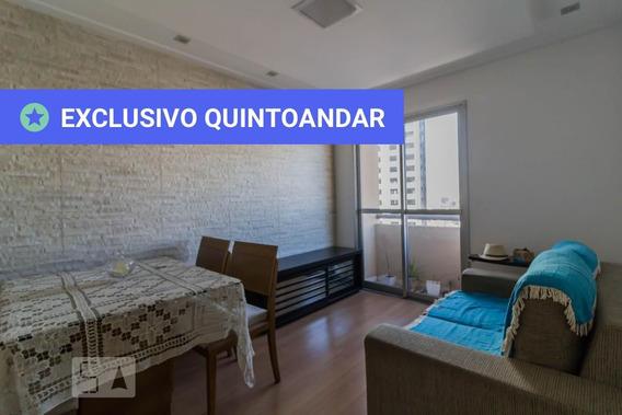 Apartamento No 8º Andar Mobiliado Com 2 Dormitórios E 1 Garagem - Id: 892953830 - 253830