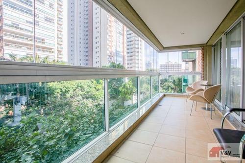 Imagem 1 de 15 de Apartamento Para Venda Em São Paulo, Brooklin, 3 Dormitórios, 3 Suítes, 5 Banheiros, 3 Vagas - Brkl956_2-905003