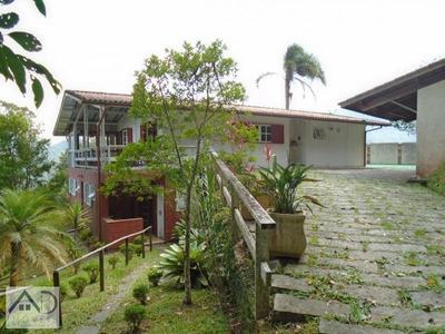 Casa Em Condomínio Para Venda Em Nova Friburgo, Mury, 4 Dormitórios, 3 Suítes, 5 Banheiros, 3 Vagas - 018