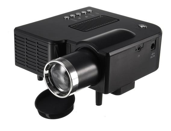 Mini Projetor Led Hd 1920x1080 400 Lumens Usb Sd Hdmi 120pol