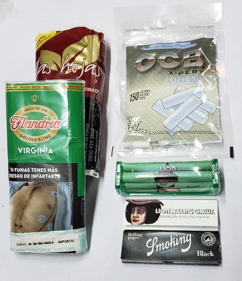 Kit Tabaco X 2, Sedas X 2, Armador Y Filtro!!!