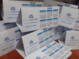 50 Calendário De Mesa Lembrancinha Aniversário 2020 Empresa