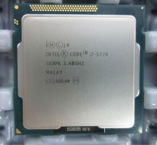 Intel Core I7-3770 Processor 3.4 Ghz Ddr3 Pc Gamer