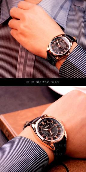 Relógio Masculino Yazole Original Ótima Qualidade