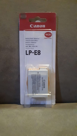 Bateria Origi Canon Lp-e8 Eos Rebel T2i T3i T4i T5i
