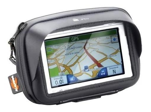 Bolsa Suporte Gps Celular Guidão Moto Kappa Ks954b