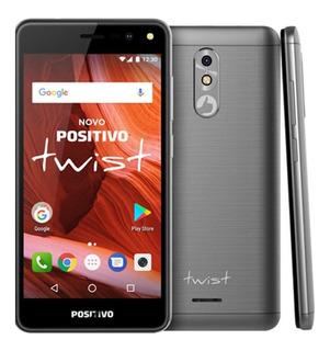 Smartphone Positivo Twist S511 Cinza 16gb Com Nota Fiscal