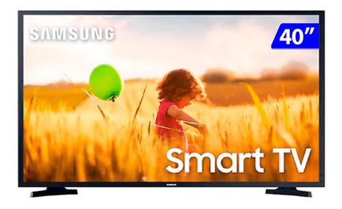 Imagem 1 de 5 de Smart Tv Samsung Led 40 Full Hd Wi-fi Tizen
