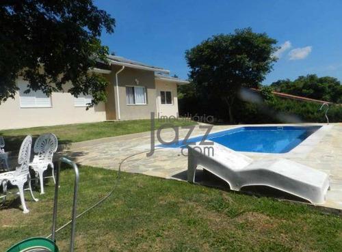 Chácara Com 3 Dormitórios À Venda, 1000 M² Por R$ 780.000 - Vale Verde - Valinhos/sp - Ch0084