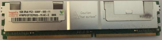 Memoria Hynix 1gb Pc2-5300 Ddr2-667mhz Ecc (usada)