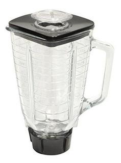 Vaso Para Licuadora Oster Vidrio Completo Generico Calidad Original Cuchillas Pica Hielo