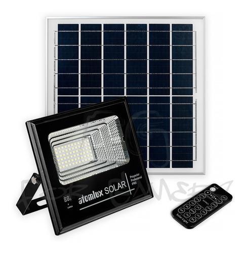 Imagen 1 de 6 de Proyector Solar Led 50 Watts Atomlux Ip65 Ecoluz
