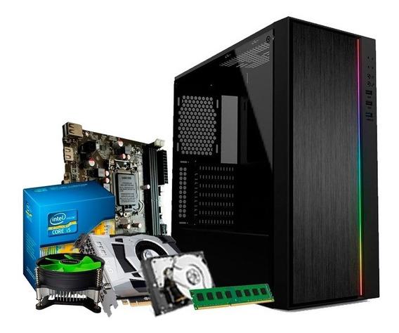 Pc Gamer Intel I5 3.6 Ghz, 8gb, Gf 4gb 1050 Gtx Ti, 1tb + Nf