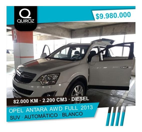 Opel Antara Awd Full Turbo Diesel Año 2013