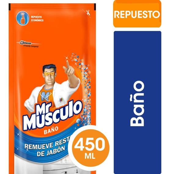 Mr Músculo Baño Doypack X450cm3 - 3 Unidades