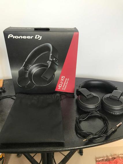 Headphone Hdj-x5 Pioneer Black