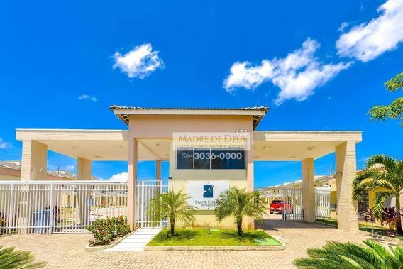 Casa Duplex Com 131,88m² (3 Suítes/4vagas) Em Condomínio De Alto Luxo Na Melhor Localização Do Eusébio. - Ca0659