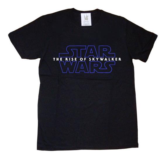 Remeras Estampa Star Wars Ascenso Rise Skywalker Navidad
