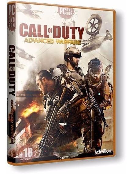 Call Of Duty Advanced Warfare - Pc Dvd - Frete 8 Reais
