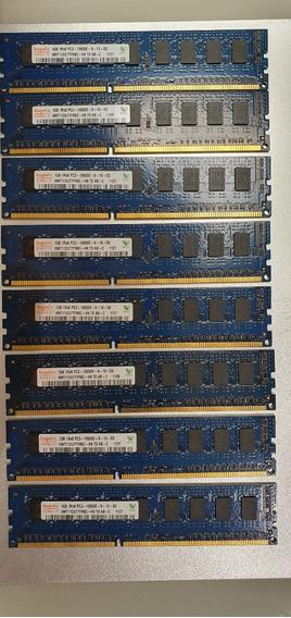 8 Pentes De Memória Hynix De 1gb Ddr3 1066 Hmt112u7tfr8c-h9