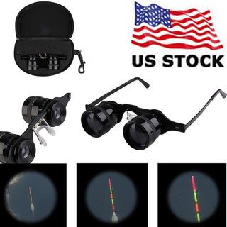 10 X 34 Gafas Pesca Binoculares Telescopio Ultralight Mano L