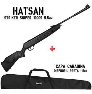Carabina De Pressão Hatsan Striker Sniper 1000s 5.5 + Capa