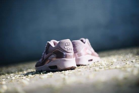 Zapatillas Nike Air Max 90 Se Leather 859633 6 Cuero Metalic