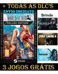 Off- One Piece World Seeker Deluxe Edition Pc Original Steam