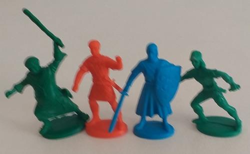 Lote Robin Hood Soldaditos De Juguete Plastico Figura Retro