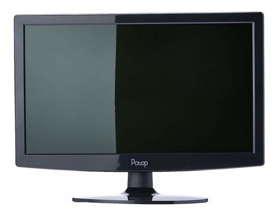 "Monitor Pctop MLP156HDMI LED 15.6"" preto 110V/220V (Bivolt)"