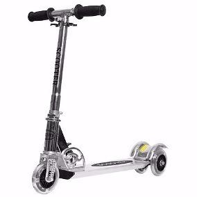 Monopatin De Aluminio 3 Rueda Scooter Plegable 40 Kg