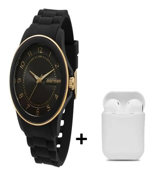 Relógio Mormaii Feminino Mopc21jae/8p C/ Fone Bluetooth