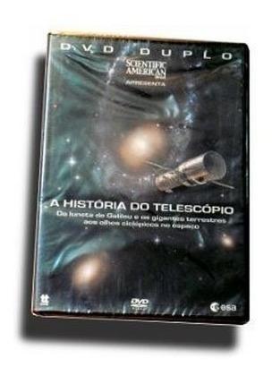 A História Telescópio Scientific American Duplo Galileu