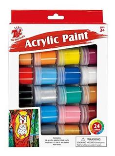 Tbc 24 Colores Juego De Pintura Acrilica 05 Fl Oz Cada Uno 2