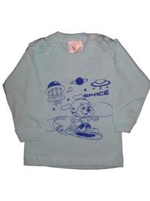 Promoção Camiseta Manga Longa Estampada - Masculino