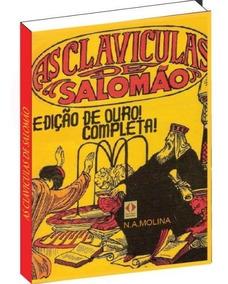 As Clavículas De Salomão Completo (4 Livros Em 1 Volume)